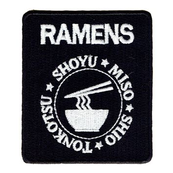 Japanese Ramens Sew/Iron on Patch