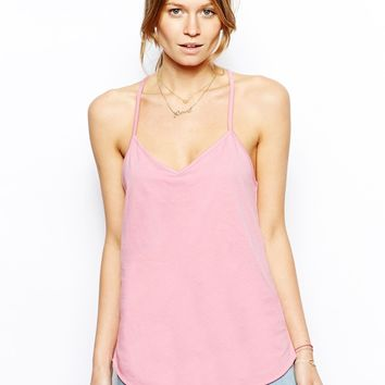 ASOS Longline V Neck Cami Top