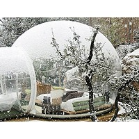 Stargazing Clear Inflatable Bubble Dome Igloo Tent
