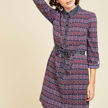 Sights and Soundtracks A-Line Dress | Mod Retro Vintage Dresses | ModCloth.com
