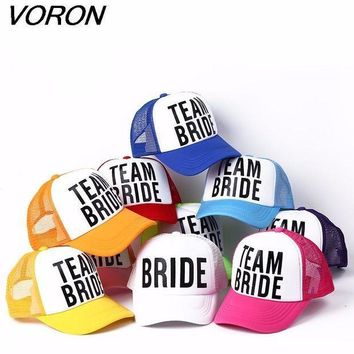 CREYCI7 VORON BRIDE TO BE TEAM BRIDE Bachelorette Hats Women Wed eec293f9dd49