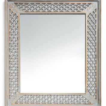 Era Home Distressed Wood Mirror