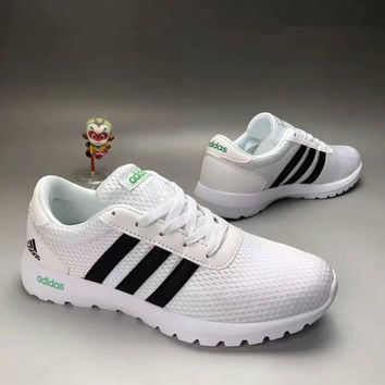 """Adidas"" Fashion Casual Ultra-light Breathable Net Cloth Unisex Sneakers Couple  Running Shoes"