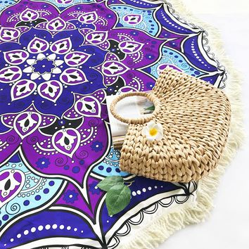 Cupshe Purple DreamTassel Tapestry