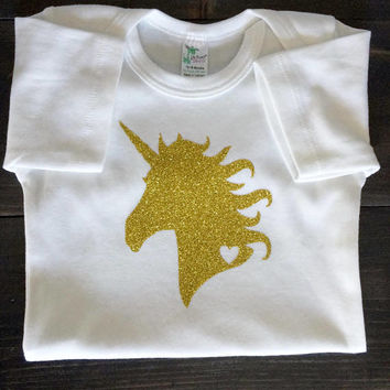Unicorn Shirt,  Glitter Unicorn Shirt, Girls Birthday Shirt, Girls Unicorn Shirt, Unicorn Birthday Shirt, Glitter Unicorn Tshirt,