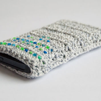 Crocheted Iphone 5 case or cozy