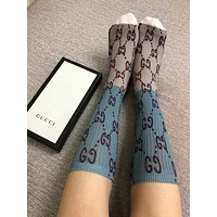 GUCCI Splice Lurex GG socks