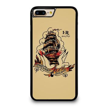SAILOR JERRY iPhone 4/4S 5/5S/SE 5C 6/6S 7 8 Plus X Case