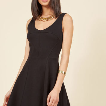 Cityscape Escape A-Line Dress