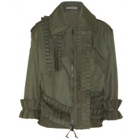 bottega veneta - cotton-blend jacket
