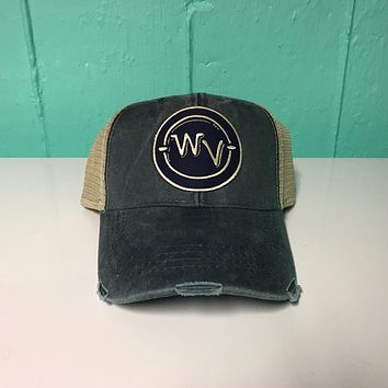 WV in Circle Patch Hat