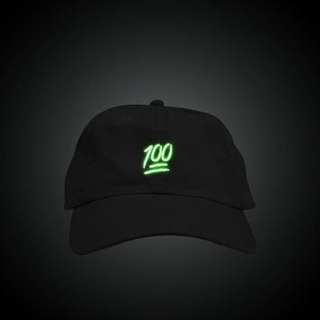 Glow in the Dark Keep It 100 Dad Hat