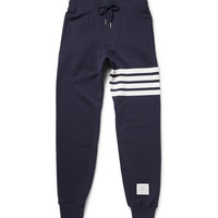 Thom Browne - Loopback Cotton-Jersey Sweatpants | MR PORTER