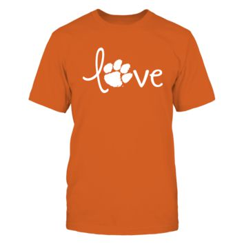 Love Clemson! - T-Shirt - Officially Licensed Fashion Sports Apparel