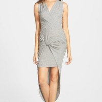 Women's Leith Knot Front High/Low Dress,