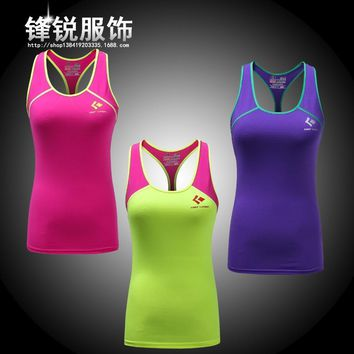 Women Cotton Gyms Tank Tops