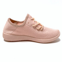 Slip On Tennis Shoes In Pink