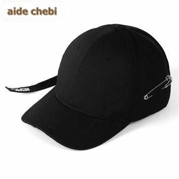 [aide chebi]2017 Cotton Snapback Hats Cap Baseball Cap solid Hats Hip Hop Fitted Cheap
