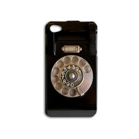 Retro Rotary Phone Dial Cute Custom Initials or Numbers Case for iPhone 5/5s and iPhone 4/4s