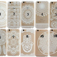 Dream Catcher/Henna/Mandala/Tribal iPhone 6 6 Plus Hard Case