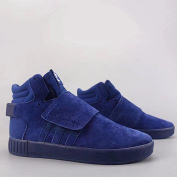 Adidas Tubular Invader Strap Fashion Casual High-Top Old Skool Shoes-24