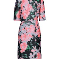 Erdem Jacquard Ivy Dress - Knee Length Dress - ShopBAZAAR