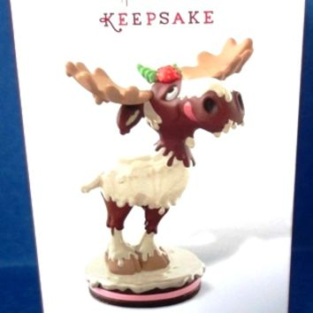 2014 White Chocolate Moose Hallmark Limited Edition Ornament