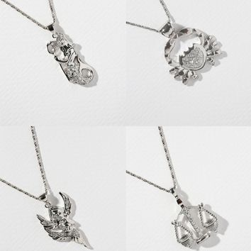 The Star Signs Necklaces Silver