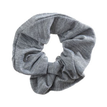 Grey Hair Scrunchie - Grey