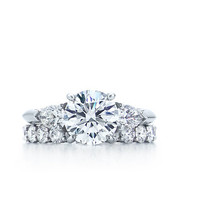 Tiffany & Co. | Engagement Rings | Round Brilliant With Pear-shaped Side Stones | United States