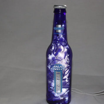 Bud Light Platinum Light - Recycled Bottle - Night Light