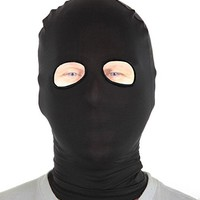 Marvoll Lycra Spandex Eyes Holes Hood Mask Halloween Costumes