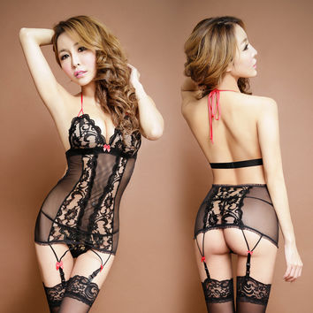 Hot Deal Cute Sexy On Sale Black Lace Socks Exotic Lingerie [4933174468]