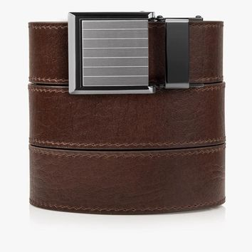 Womens Brown Top Grain Leather Belts