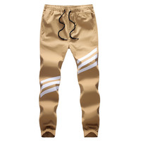 New Fashion Plus Size Men Pants Fit Cotton jogger pants summer style Sweatpants Men's Trousers Sport Pants