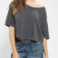 Urban Outfitters - Truly Madly Deeply Cropped Oversize Tee