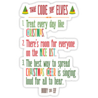 Buddy the Elf! The Code of Elves by noondaydesign