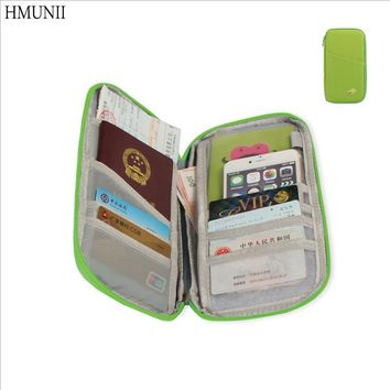 Multifunction Travel Passport Cover Wallet Portable Credit Card Package Storage Organizer Clutch Money Bag Travel Accessories