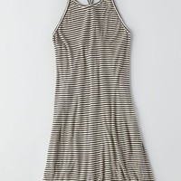 AEO Women's Don't Ask Why Ribbed Hi-lo Dress