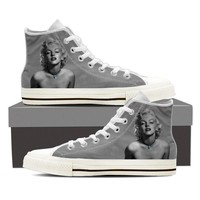 Classic Marilyn Monroe Women's Canvas High Top Shoes
