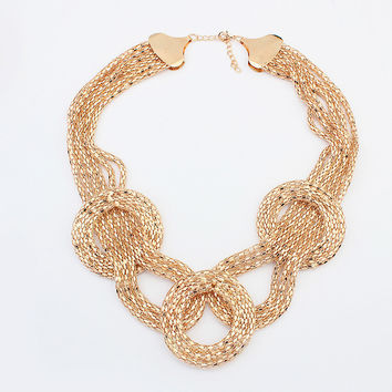 Stylish Shiny New Arrival Gift Jewelry Fashion Necklace [4918850756]