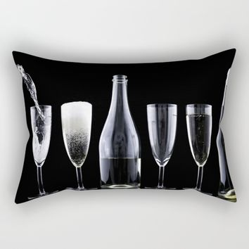 Champagne Rectangular Pillow by Mixed Imagery