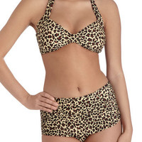 Esther Williams Bathing Beauty Two Piece in Wild | Mod Retro Vintage Bathing Suits | ModCloth.com