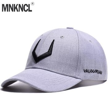 Trendy Winter Jacket MNKNCL 2018 New High Quality Hat 100% Cotton Snapback Cap V 3D Embroidery Baseball Cap Men and Women Caps AT_92_12
