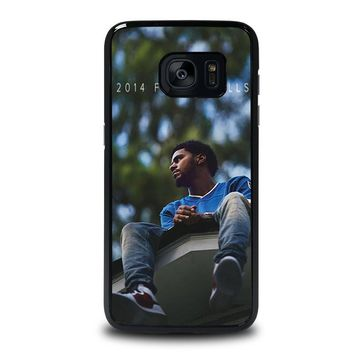 J. COLE FOREST HILLS Samsung Galaxy S7 Edge Case Cover