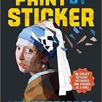 Paint By Stickers Masterpieces Book