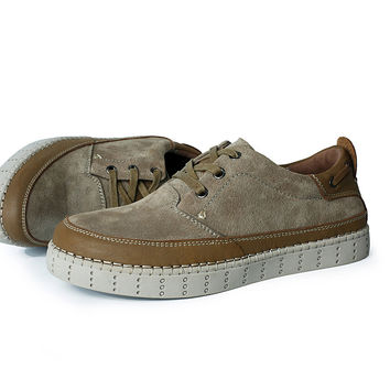 Beautiful Men Sperry Shoes Doing Old Genuine Leather Flats Men Loafers Oxfords Shoes High Quality Retro Casual Men Moccasins