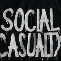 """5 Seconds of Summer 5SOS Inspired """"SOCIAL CASUALTY"""" Flannel Mens XL"""