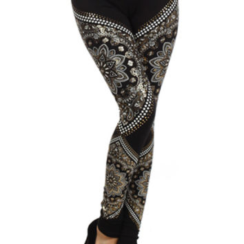 Deva Royal Leggings