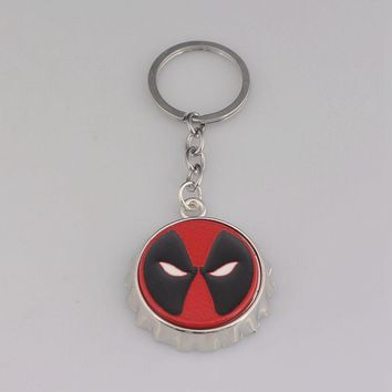 Deadpool Dead pool Taco Fashion Jewelry  Beer Bottle Opener Metal Keychain for Fans Jewelry AT_70_6